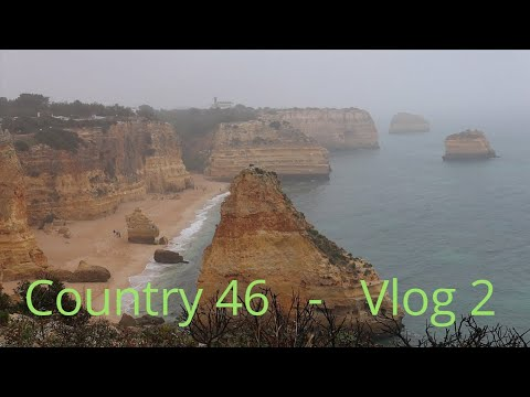 🇵🇹 Faro to Lagoa, Portugal by Train | Lagoa to Lagos  by Bus || Benagil | Exploring Lagos | V2