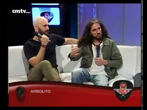 Arbolito video Entrevista CM Rock - 21-10-2014