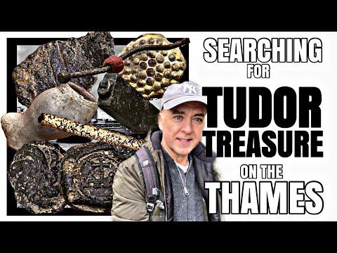 TUDOR TREASURES from the Thames River - MUDLARKING LONDON ENGLAND E25