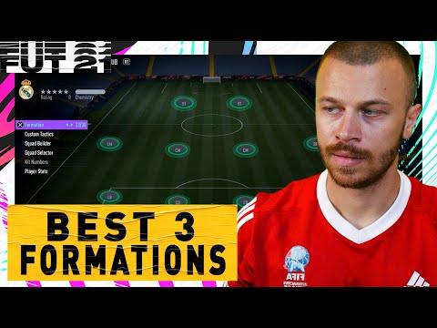 FIFA 21 BEST FORMATIONS & TACTICS in ULTIMATE TEAM! TOP 3 MOST EFFECTIVE FORMATIONS TUTORIAL
