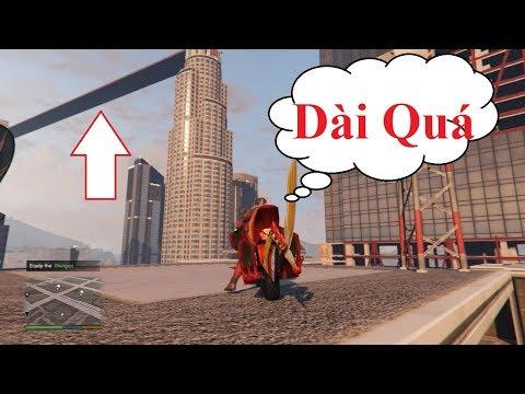 Siêu Nhân Kamen Rider Ryuki Lái Motor Bay -Cây Cầu Dài Nhất Trong Gta5 - Thời lượng: 14:13.