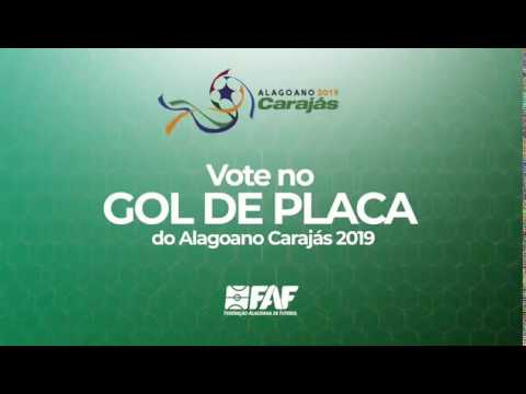 Enquete: vote no gol de placa do Alagoano Caraj�s 2019