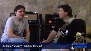 "Download Lagu ARIEL ""JEDI"" FERREYROLA - GUITARRISTA ARGENTINO ( Entrevista del 13/02/2017) Mp3"