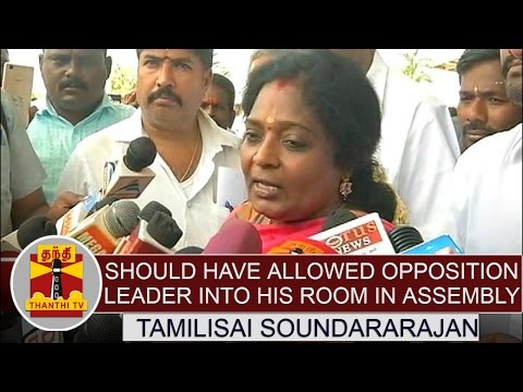 Should-have-allowed-Opposition-leader-into-his-room-at-Assembly-Campus--Tamilisai