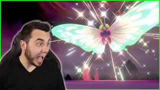 MY FIRST SHINY G-MAX! SHINY GIGANTAMAX BUTTERFREE in Pokemon Sword and Shield! by aDrive