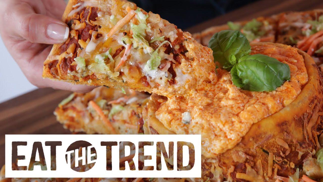 """video: Un'americanata, la pizza con un buco al centro """"Vo"""
