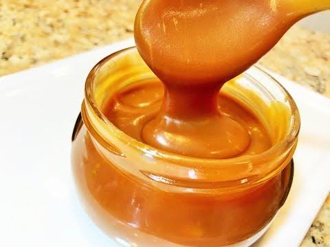 Карамельный Соус СЛИВОЧНЫЙ. Вы такой еще не пробовали!   Caramel sauce. (видео)