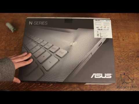 ASUS N550JV-DB71 Unboxing