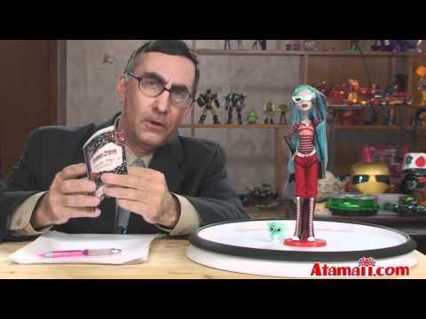 Monster High Dolls Ghoulia Yelps Zombie Doll Warning!