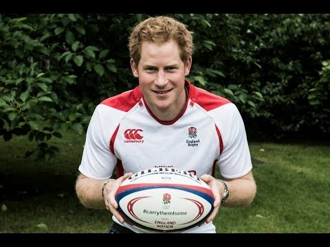 Prince Harry is supporting England Women