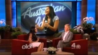 Video Jessica Mauboy on The Ellen Show MP3, 3GP, MP4, WEBM, AVI, FLV Maret 2018