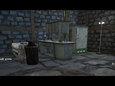 ARK: Survival Evolved (Одиночка) #67 - Дробилка, лаборатория и приручение троодона