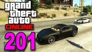 Grand Theft Auto 5 Multiplayer - Part 201 - DRAG RACE!! (GTA Online Let's Play) Video