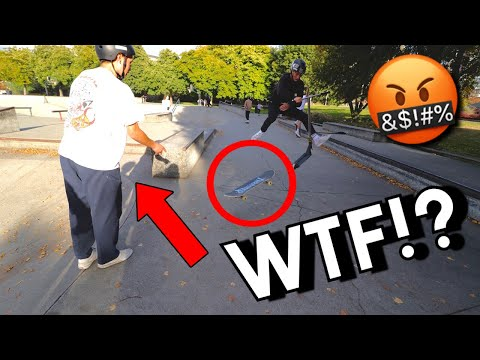 Why Scooter Riders HATE Skateboarders!