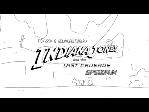 Speedrun Indiana Jones and the Last Crusade in 60