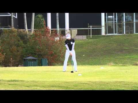 [Australian Golf Schools _ ANK GOLF] KLPGA 김자영 프로 스윙