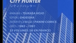 Raconte-moi un Manga n°01 : City Hunter