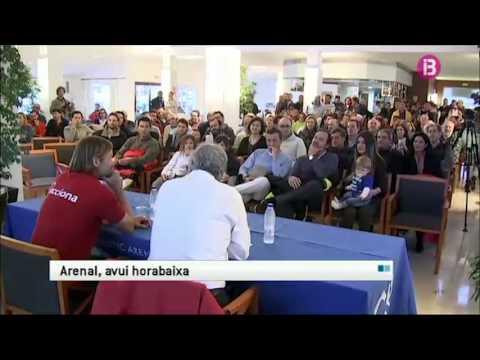 Noticia a IB3 TV de la xarla, col.loqui de Bubi Sansó al CNA