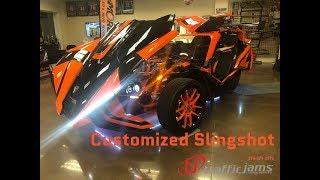 5. Customized Polaris Slingshot SLR