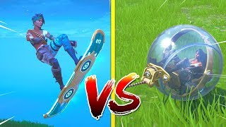 HOVERBOARD VS THE BALLER (Which Is Better?) Fortnite Battle Royale