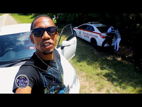 police stop us for speeding going to Jah Cure birthday party on the sea in Negril PelpaTimeTV PART 3