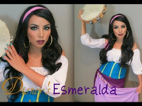 Disney's Esmeralda Make-up Look !!!