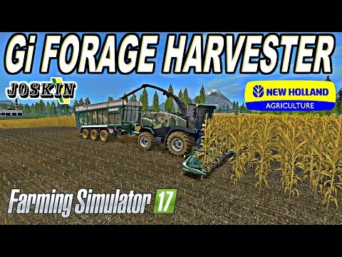 FS17 NewHolland Forage Pack v2.5 Fixed