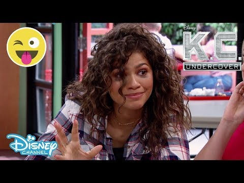 K.C. Undercover | Season 3: SNEAK PEEK Episode 1 - The Raincoat 💜 | Disney Channel UK