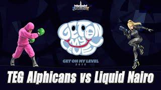 GOML2016 – Top 12 – TEG| Alphicans vs Liquid| Nairo