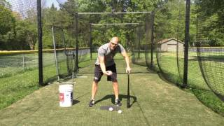 Hitting Mechanics 101 | 3 Points of Contact Hitting Drills: Inside, Middle, Outside | Ep6