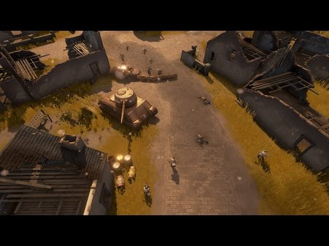Foxhole prototype first public playtest footage
