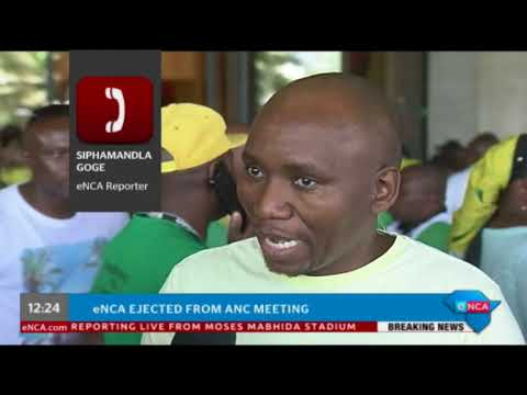 eNCA news team ejected from ANC KZN meeting
