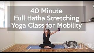 Video 40 Minute Full Hatha Yoga Class MP3, 3GP, MP4, WEBM, AVI, FLV Maret 2018