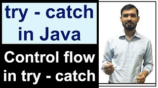try catch Java | Control Flow in try catch | Exception Handling in Java by Deepak (Hindi)