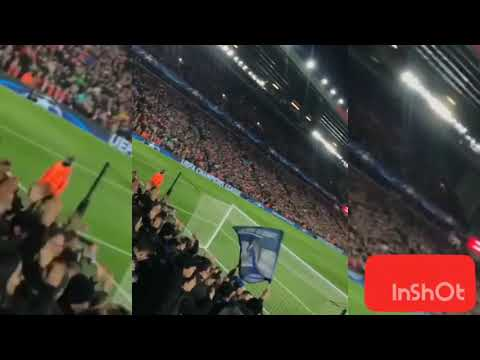 Liverpool FC 2 - 0 FC Porto | Amazing FC Porto Fans Amazing Atmosphere At Anfield