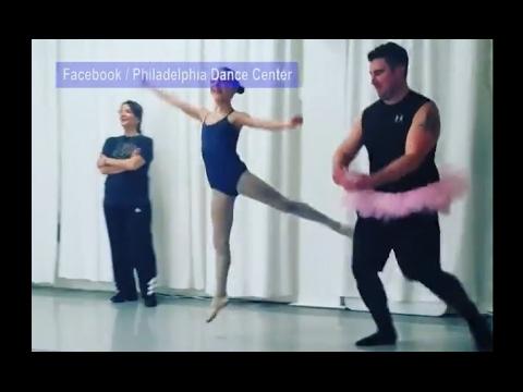Isät mukana tyttäriensä balettitunnilla – Kyllä on herkkää liikettä