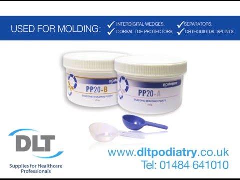 Podopro PP20 Silicone Molding Putty - Podiatry