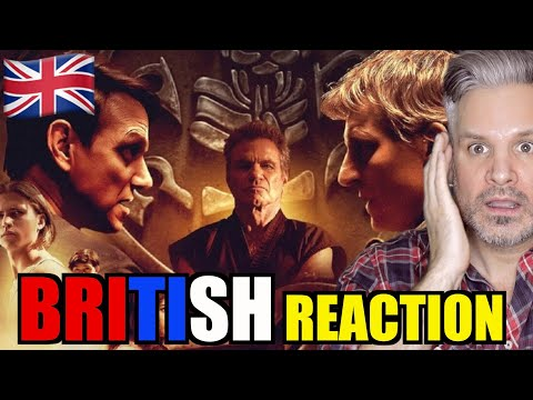 Cobra Kai Season 3 Reactions (British Guy)