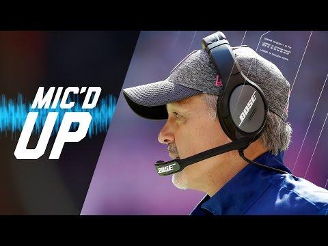 Chuck Pagano Mic'd Up vs. Bears (Week 5, 2016) | Sound FX | NFL Films