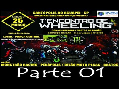 Charles Bolgheroni - 1º Encontro de Wheeling - Santópolis do Aguapeí-SP - Parte 01