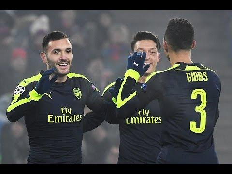 Basel vs Arsenal 1-4  All Goals & Highlights RESUMEN & GOLES (12/06/2016) HD
