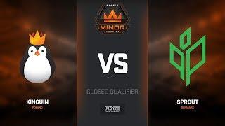Kinguin vs Sprout, map 3 nuke, Europe Minor Closed Qualifier – FACEIT Major 2018