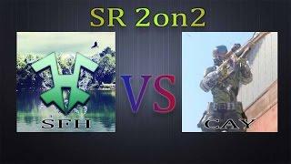 【BO3 第5回 CyAC SR2on2 クラン戦】~[SFH TEAM VS ...