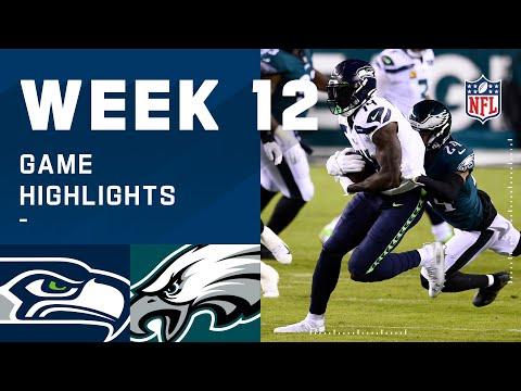 Seahawks vs. Eagles Week 12 Highlights | NFL 2020