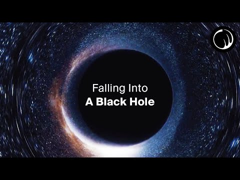 Falling Into A Black Hole - A Guided Experience