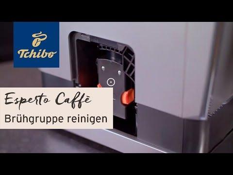 "Brühgruppe reinigen: Kaffeevollautomat ""Esperto Caffè""   Tchibo"
