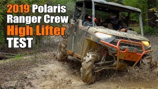 5. 2019 Polaris Ranger Crew XP 1000 High Lifter Edition Test Review: Factory Build Mud UTV