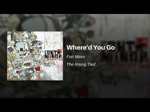 Where'd You Go - Fort Minor (feat. Holly Brook and Jonah Matranga) (видео)