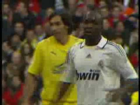 El Debut de Lassana Diarra con el Real Madrid