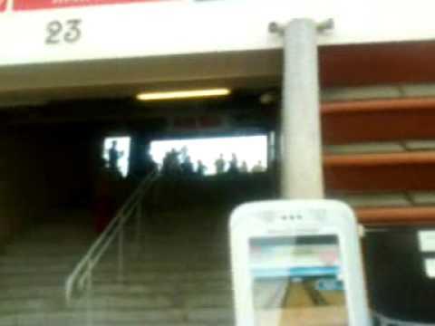 Entrando al Stadio Olimpico di Torino